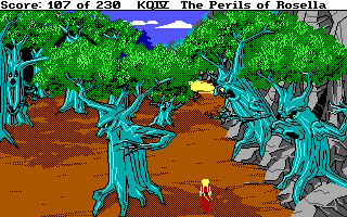 File:King's Quest 4 - DOS - Evil Trees.png