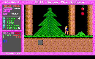 Jill of the Jungle - Jill Saves The Prince - DOS - Level 1.png