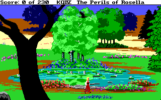 File:King's Quest 4 - DOS - Frog.png