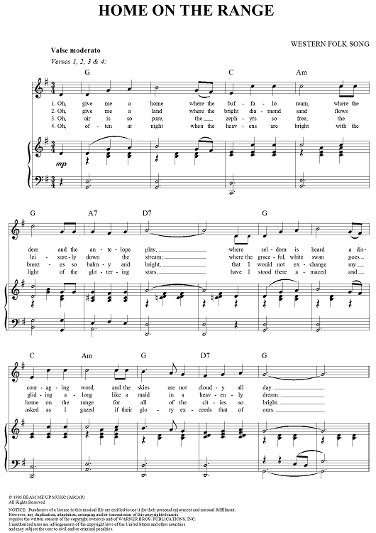 File:Home On the Range - Sheet png - Video Game Music