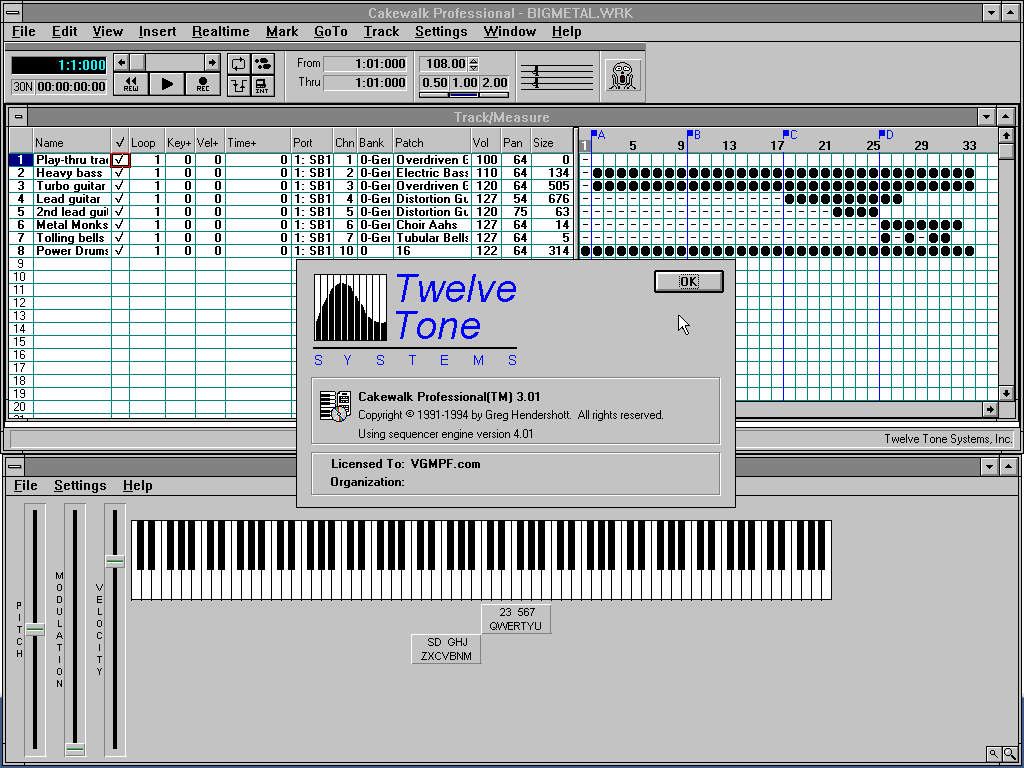 Player_-_Cakewalk_Professional_v3.01_For