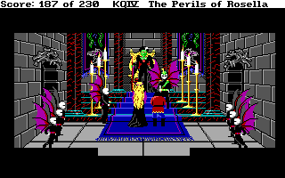 King's Quest 4 - DOS - Wedding.png