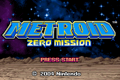 Metroid - Zero Mission - GBA - Title.png