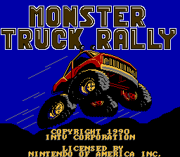 Monster Truck Rally - NES - Title Screen.png
