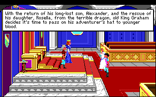 King's Quest 4 - DOS - Introduction, Part 1.png