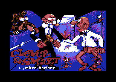 File:Clever & Smart - C64 - Title.png