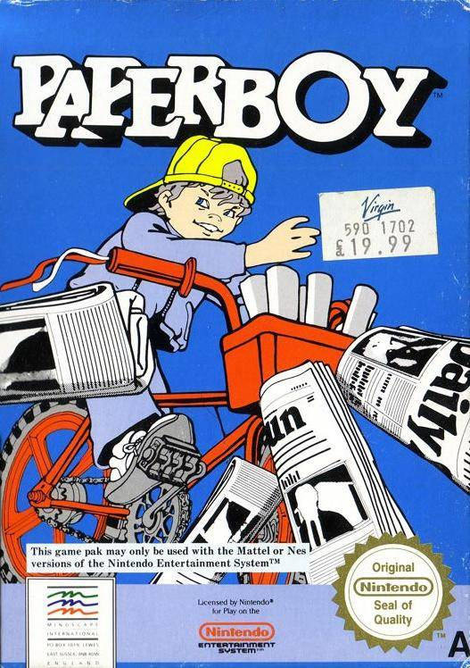 File:Paperboy - NES - UK jpg - Video Game Music Preservation