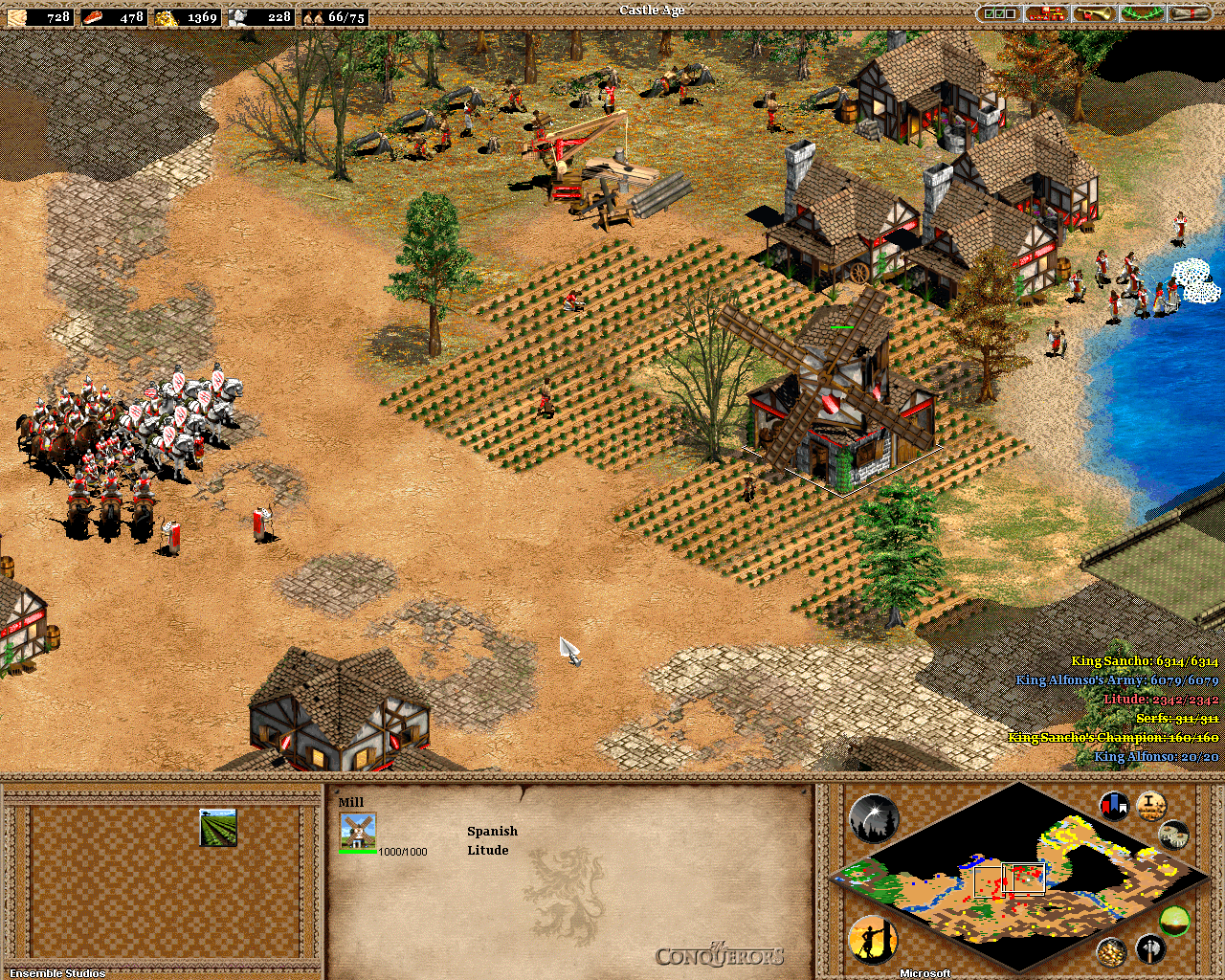 age of empires ii the conquerors demo download