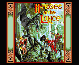Heroes of the Lance - MSX2 - Title.png