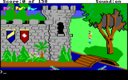 King's Quest - DOS - Start.png