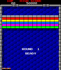 Arkanoid - ARC - Round Start.png