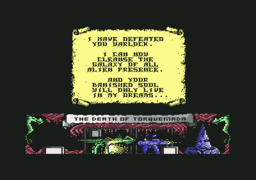 Nemesis the Warlock - C64 - Game Over.png