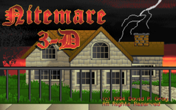 Nitemare 3D - DOS - Title.png