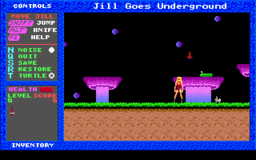 Jill of the Jungle - Jill Goes Underground - DOS - Level 0.png
