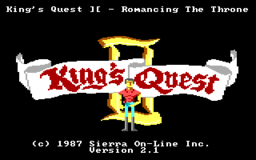 King's Quest 2 - DOS - Title.png