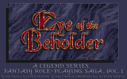 Eye of the Beholder - DOS - Title Screen.PNG