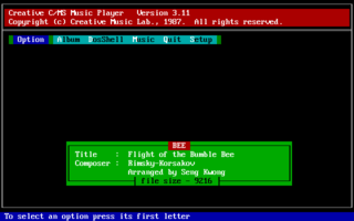 Creative Music System - DOS - Flight of the Bumblebee.png