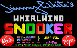 Jimmy Whites Whirlwind Snooker - DOS - Title.png