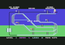 Kong Strikes Back! - C64 - Game Over.png