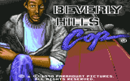 Beverly Hills Cop - C64 - Title.png