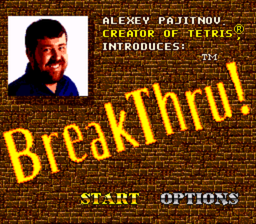 BreakThru! - SNES - Title Screen.PNG