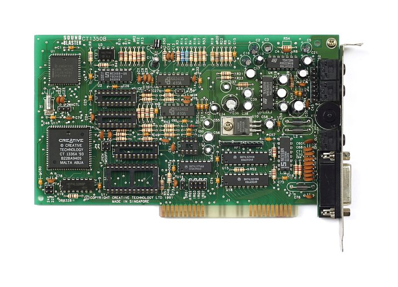 File:Sound Blaster 2.0 - CT1350B - Chips Removed.jpg