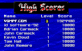 Spear of Destiny - DOS - High Score.png
