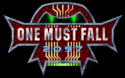 One Must Fall 2097 - DOS - Title.png