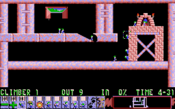 Lemmings - DOS - Climbers.png