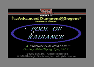 Pool of Radiance - C64 - Title Screen.png