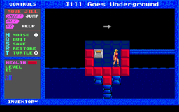 Jill of the Jungle - Jill Goes Underground - DOS - Level 11.png