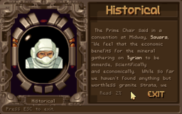 Tyrian - DOS - Story Mode.png