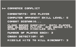 Ace 2 - C64 - Battle Setup.png