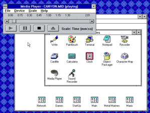 Windows 3 - DOS - Media Player.png
