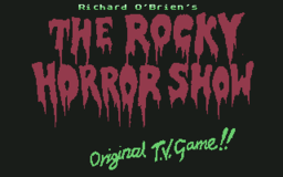 Rocky Horror Show - C64 - Title.png