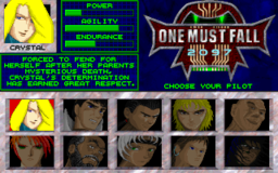 One Must Fall 2097 - DOS - Fighters.png
