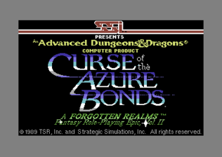 Curse of the Azure Bonds - C64 - Title Screen.png