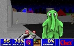 Chex Quest 2 - DOS - Spaceport.png