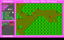 Jill of the Jungle - Jill Saves The Prince - DOS - Map.png