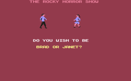 Rocky Horror Show - C64 - Player Select.png