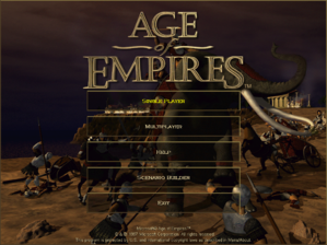 Age of Empires - W32 - Title Screen.png