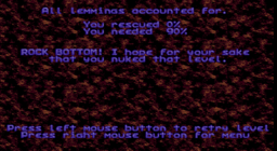 Lemmings - DOS - Game Over.png