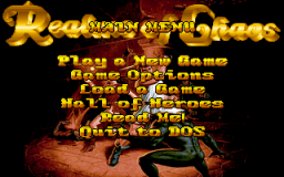 Realms of Chaos - DOS - Menu.png