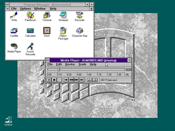 Windows 3 - DOS - Media Player (Newer).png