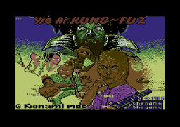 Yie Ar Kung-Fu II - C64 - Loading.png