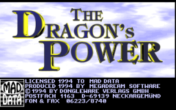 Dragon's Power - DOS - Title.png