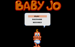 Baby Jo In Going Home - DOS - Selection Menu.png