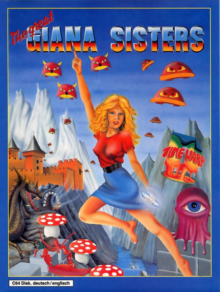File:The Great Giana Sisters - C64 - Germany - Disk.jpg