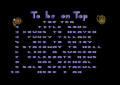 To be on Top - C64 - Funky Village.png