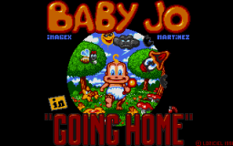 Baby Jo In Going Home - DOS - Main Menu.png
